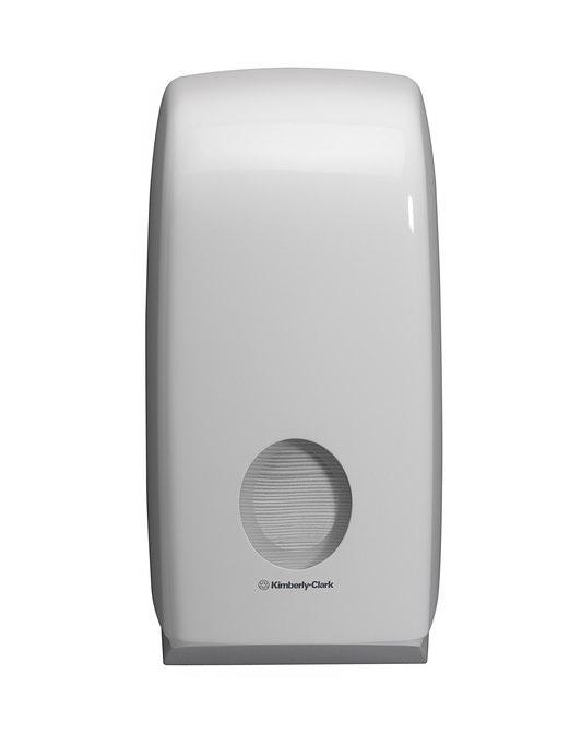 Дозатор за тоалетна хартия на пачка Kimberly-Clark Aquarius