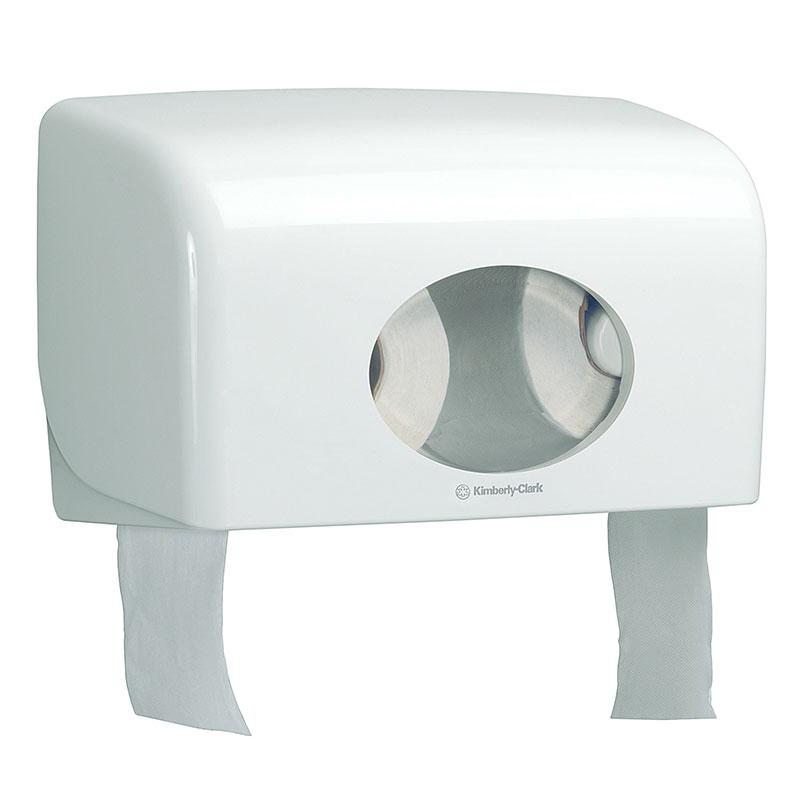 Дозатор за тоалетна хартия двоен Kimberly-Clark Aquarius