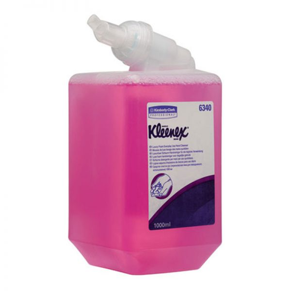 Розова пяна за ръце Kleenex 2500 дози