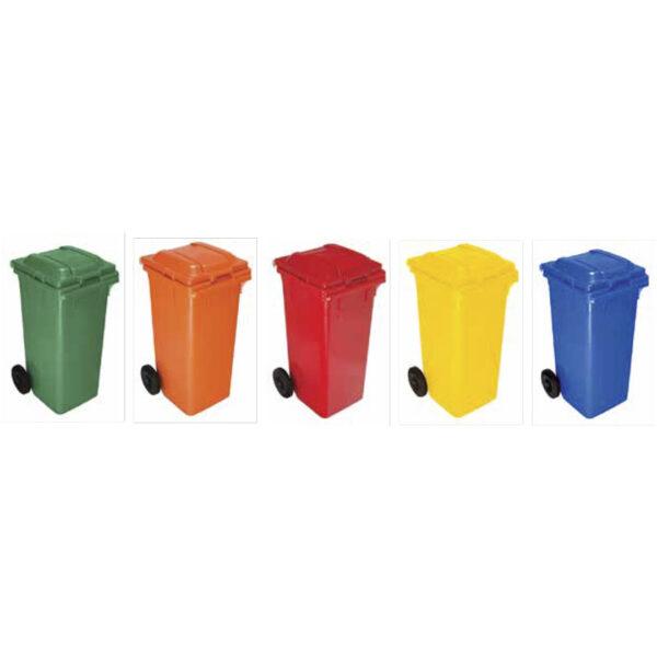 Пластмасови контейнери за смет 120 L.