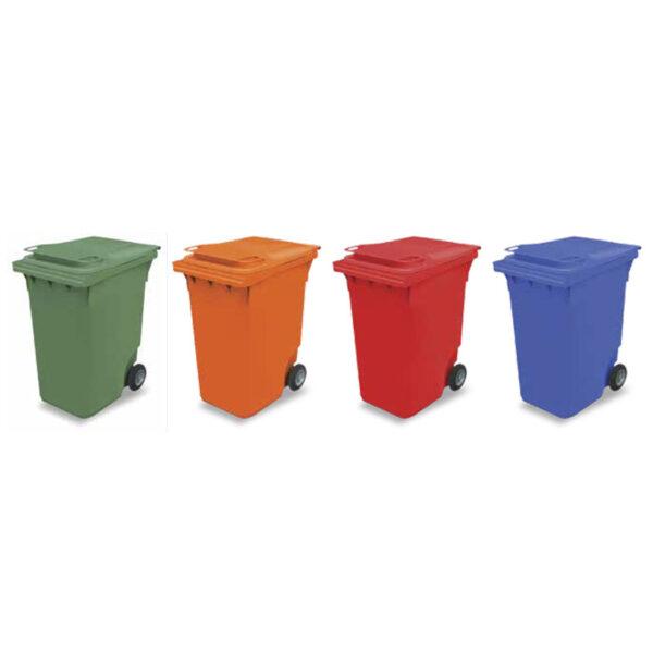 Пластмасови контейнери за смет 240 L.