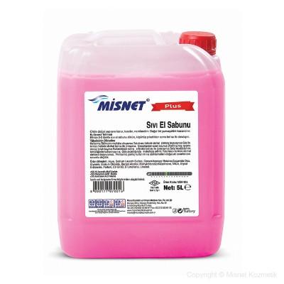 Миснет течен сапун за ръце - розов 5 L